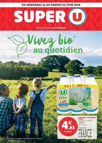 Super U catalogue publicitaire (valable jusqu'au 22-06)