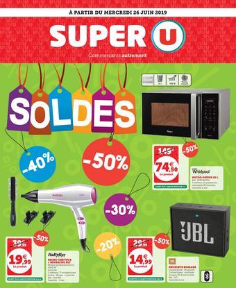 Super U catalogue publicitaire (valable jusqu'au 06-07)