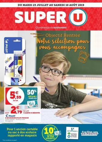 Super U catalogue publicitaire (valable jusqu'au 10-08)