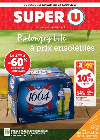 Super U catalogue publicitaire (valable jusqu'au 24-08)
