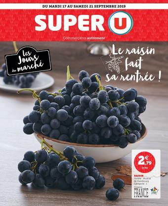 Super U catalogue publicitaire (valable jusqu'au 21-09)