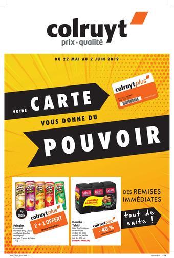 Colruyt catalogue publicitaire (valable jusqu'au 02-06)