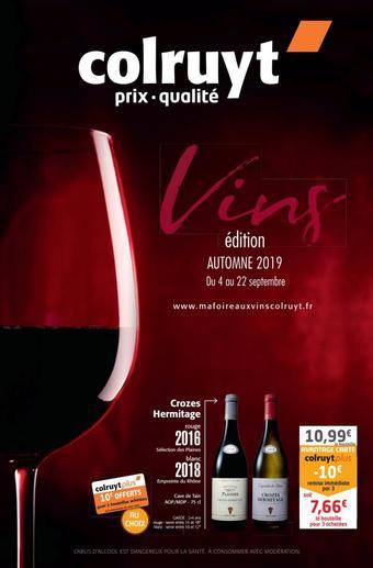 Colruyt catalogue publicitaire (valable jusqu'au 22-09)