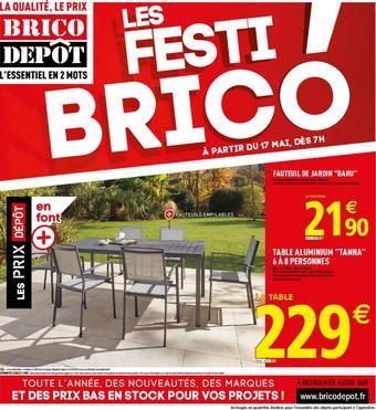 Brico Dépôt catalogue publicitaire (valable jusqu'au 30-05)