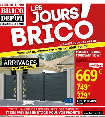 Brico Dépôt catalogue publicitaire (valable jusqu'au 07-06)