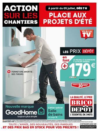 Brico Dépôt catalogue publicitaire (valable jusqu'au 25-07)