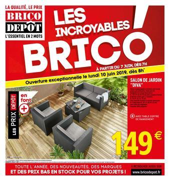 Brico Dépôt catalogue publicitaire (valable jusqu'au 31-08)