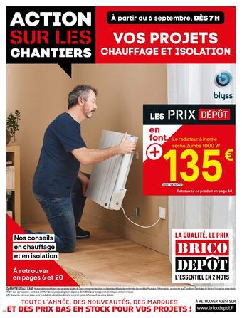 Brico Dépôt catalogue publicitaire (valable jusqu'au 26-09)