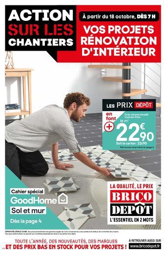 Brico Dépôt catalogue publicitaire (valable jusqu'au 29-12)