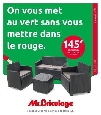 Mr Bricolage catalogue publicitaire (valable jusqu'au 26-05)