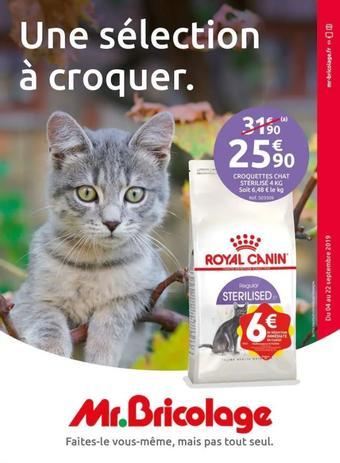 Mr Bricolage catalogue publicitaire (valable jusqu'au 22-09)