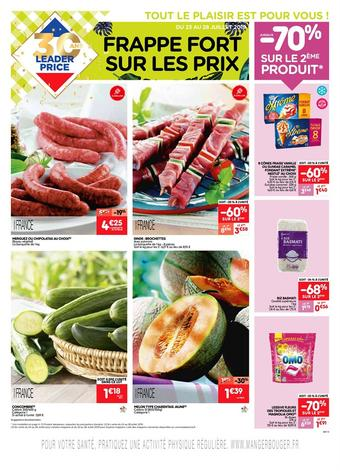 Leader Price catalogue publicitaire (valable jusqu'au 28-07)
