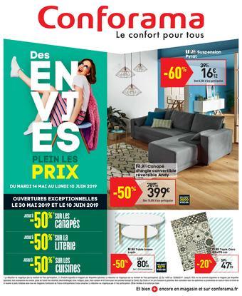 Conforama catalogue publicitaire (valable jusqu'au 10-06)