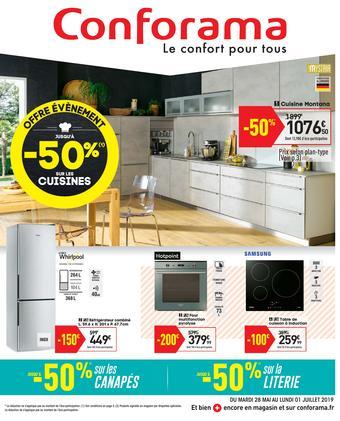 Conforama catalogue publicitaire (valable jusqu'au 01-07)