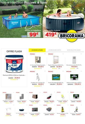 Bricorama catalogue publicitaire (valable jusqu'au 01-08)