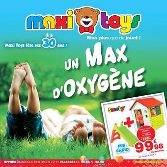 Maxi Toys catalogue publicitaire (valable jusqu'au 26-05)