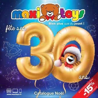 Maxi Toys catalogue publicitaire (valable jusqu'au 31-12)