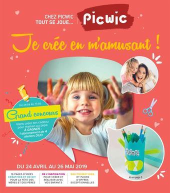Picwic catalogue publicitaire (valable jusqu'au 26-05)