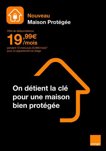 Orange catalogue publicitaire (valable jusqu'au 13-11)