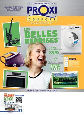 Proxi Confort catalogue publicitaire (valable jusqu'au 30-10)