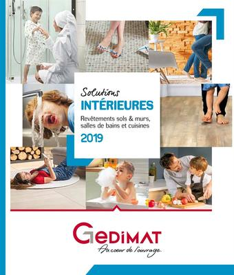 Gedimat catalogue publicitaire (valable jusqu'au 30-09)