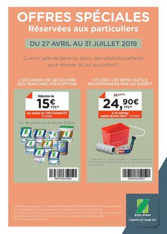 Zolpan catalogue publicitaire (valable jusqu'au 31-07)