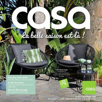 Casa catalogue publicitaire (valable jusqu'au 26-05)