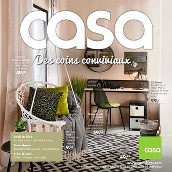 Casa catalogue publicitaire (valable jusqu'au 25-08)