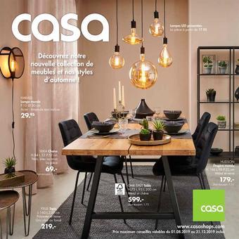 Casa catalogue publicitaire (valable jusqu'au 31-12)