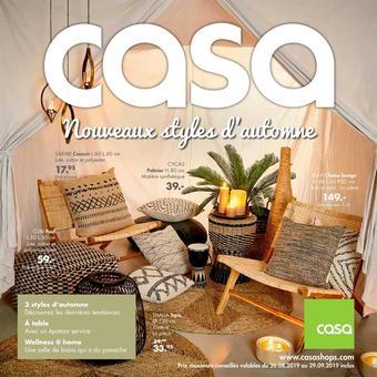 Casa catalogue publicitaire (valable jusqu'au 29-09)