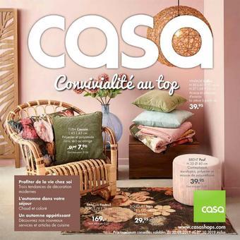 Casa catalogue publicitaire (valable jusqu'au 27-10)