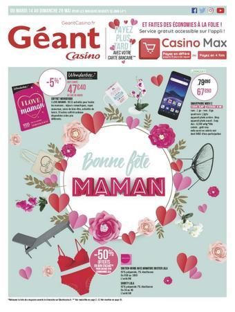 Géant Casino catalogue publicitaire (valable jusqu'au 26-05)