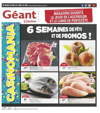 Géant Casino catalogue publicitaire (valable jusqu'au 10-06)