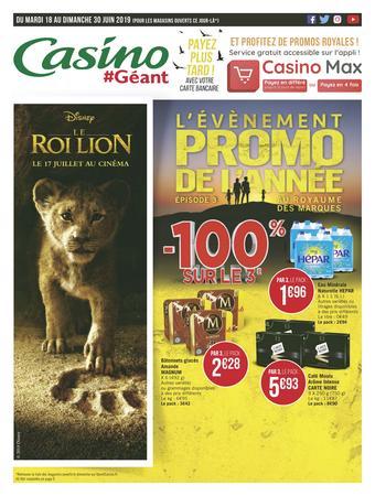 Géant Casino catalogue publicitaire (valable jusqu'au 30-06)