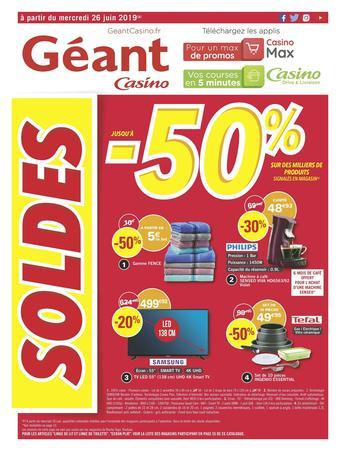 Géant Casino catalogue publicitaire (valable jusqu'au 07-07)