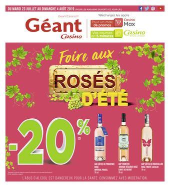 Géant Casino catalogue publicitaire (valable jusqu'au 04-08)