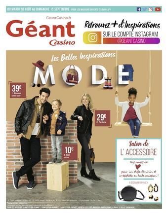 Géant Casino catalogue publicitaire (valable jusqu'au 15-09)