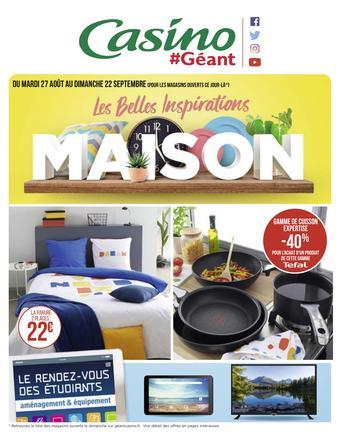 Géant Casino catalogue publicitaire (valable jusqu'au 22-09)