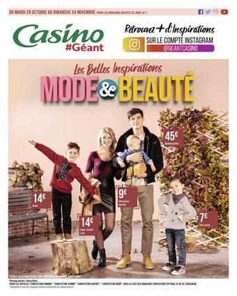 Géant Casino catalogue publicitaire (valable jusqu'au 24-11)
