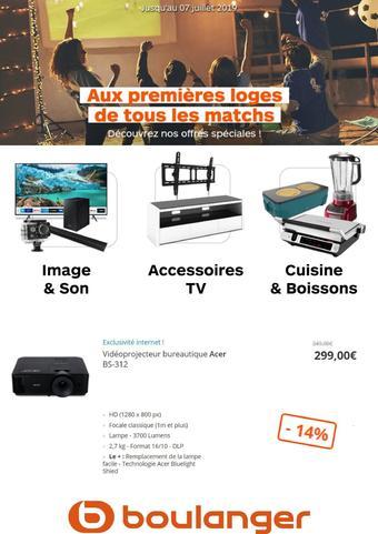 Boulanger catalogue publicitaire (valable jusqu'au 07-07)