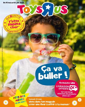 Toys R Us catalogue publicitaire (valable jusqu'au 02-06)
