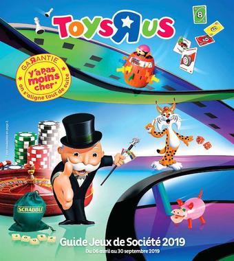 Toys R Us catalogue publicitaire (valable jusqu'au 30-09)