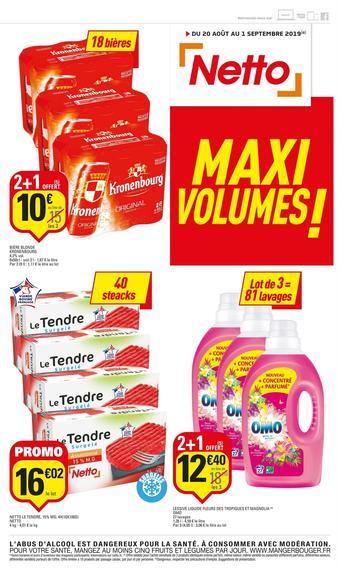 Netto catalogue publicitaire (valable jusqu'au 01-09)