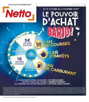 Netto catalogue publicitaire (valable jusqu'au 27-10)