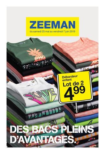 Zeeman catalogue publicitaire (valable jusqu'au 07-06)