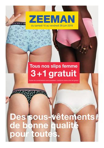 Zeeman catalogue publicitaire (valable jusqu'au 28-06)