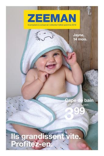 Zeeman catalogue publicitaire (valable jusqu'au 31-10)
