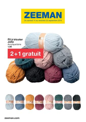 Zeeman catalogue publicitaire (valable jusqu'au 20-09)