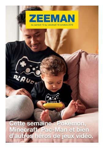 Zeeman catalogue publicitaire (valable jusqu'au 18-10)