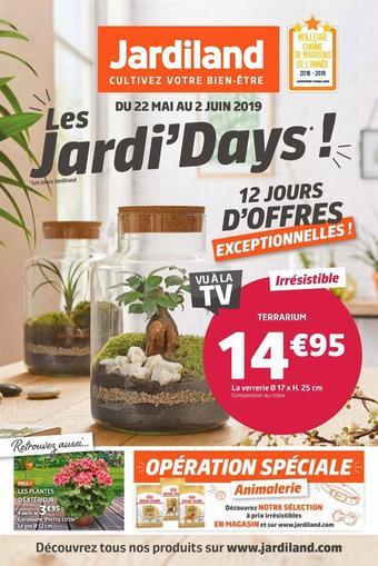 Jardiland catalogue publicitaire (valable jusqu'au 02-06)